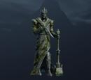 Figurka bożka przedstawiająca Morgotha