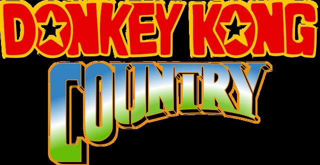 File:Logo - Donkey Kong Country.png