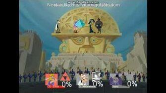 Super Smash Bros Lawl Nova Moveset CD-i Zelda