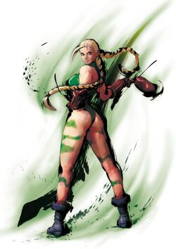 Cammy CG Art