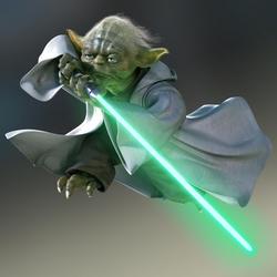 Yoda CG Art