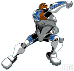 Cyborg CG Art