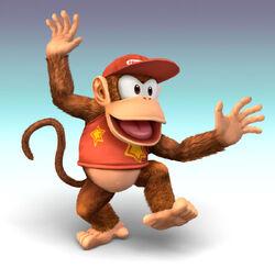 Diddy Kong CG Art