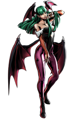 Morrigan CG Art