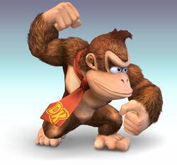 Donkey Kong CG Art