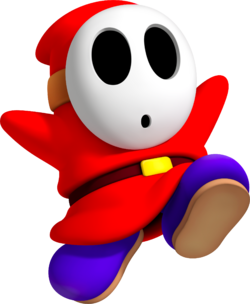 Shy Guy CG Art