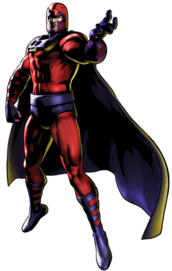 Magneto CG Art
