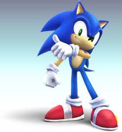 Sonic CG Art