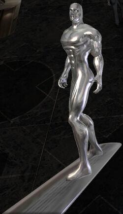 Silver Surfer CG Art