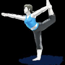 Female Trainer CG Art
