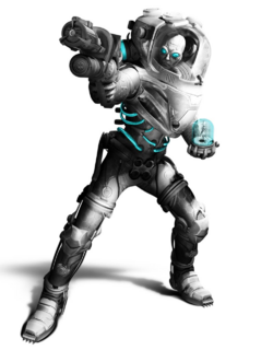 Mr. Freeze CG Art
