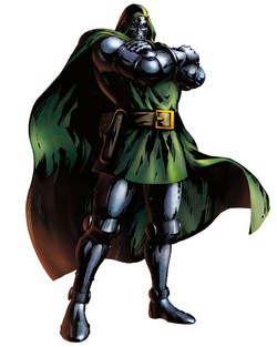 Doctor Doom CG Art