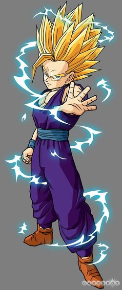 Super Saiyan 2 Teen Gohan Budokai Tenkaichi 2