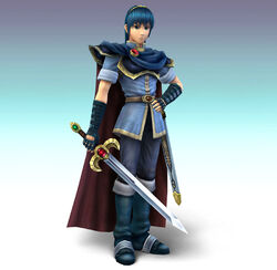 Marth CG Art