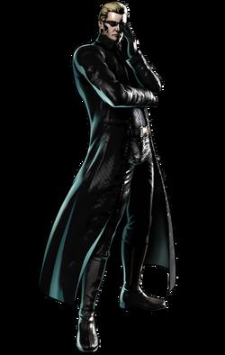 Wesker CG Art