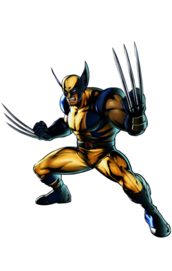 Wolverine CG Art