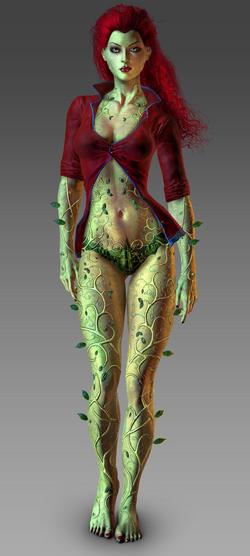 Poison Ivy CG Art
