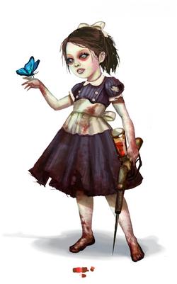 Little Sister CG Art