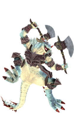 Lizardman CG Art