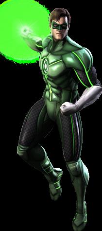 Green Lantern CG Art