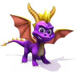 Spyro CG Art