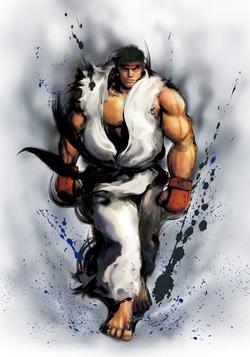 Ryu CG Art