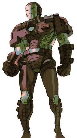 War Machine CG Art