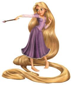 Rapunzel CG Art