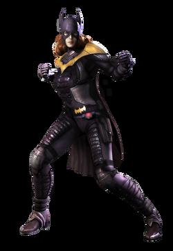 Batgirl CG Art