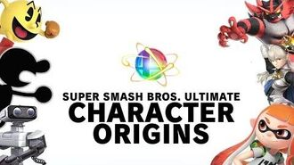Super Smash Bros. Ultimate - ORIGINS OF ALL Launch Characters 1980-2018