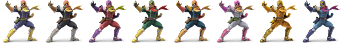 Captain Falcon Palette (SSBU)