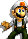 Luigi Palette 02 (SSBM)