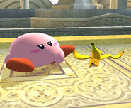 KirbyhitBanana
