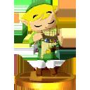SSB3DS Link (Spirit Flute) Trophy