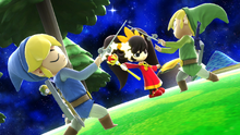 SSB4-Wii U Congratulations Toon Link Classic