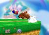 Donkey Kong Edge attack (fast) SSB
