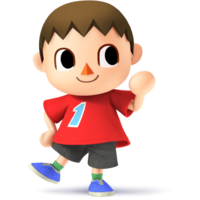 Villager - Super Smash Bros. for Nintendo 3DS and Wii U