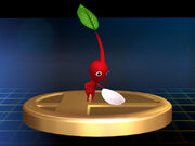 Red Pikmin Trophy