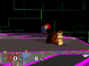 Donkey Kong Edge attack (fast) SSBM