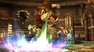 Donkey Kong Mario and Luigi Pyrosphere