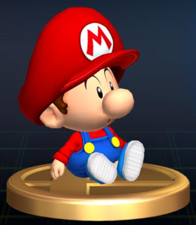 filetrofeo beb mario ssbbpng - Bebe Mario