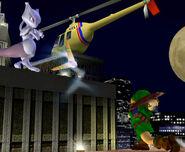 Young Link's Boomerang Move