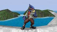 Falco Idle Pose 2 Brawl
