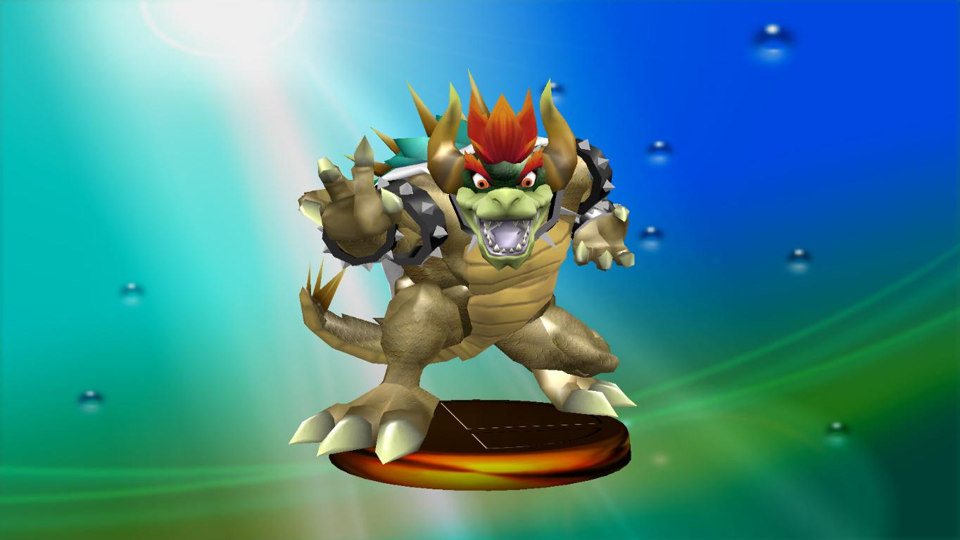 Giga Bowser Vs Mario