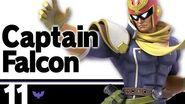 11 Captain Falcon – Super Smash Bros