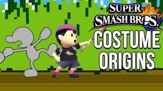 Super Smash Bros. Costume Origins - Retro Characters