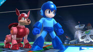 Mega Man and Rush