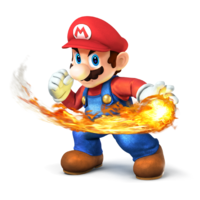 Mario - Super Smash Bros. for Nintendo 3DS and Wii U
