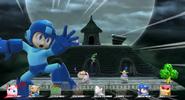 Mega man screen KO Wii U