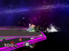 Mr. Game & Watch Edge attack (slow) SSBM
